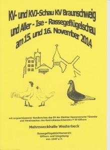 Deckblatt Vereinsschau 2014 001